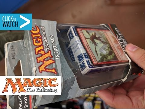 EPIC Walmart Magic the Gathering Booster Packs!!!