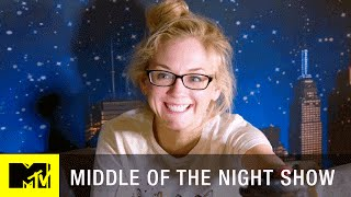 Middle of the Night Show | 'Emily Kinney & the Mascot' Official Sneak Peek (Episode 8) | MTV