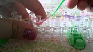 Урок 5. Плетение браслетов из резинок,на ногу