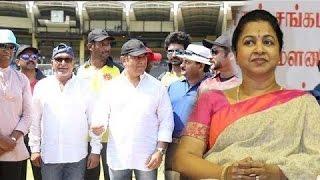 Nadigar Sangam Management is not Matured-Radhika Angry!...