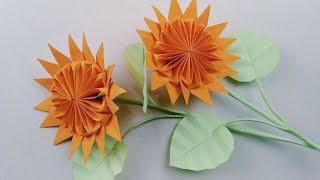 【香香手工】折纸向日葵