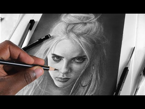 HOW TO DRAW BILLIE EILISH: STEP BY STEP (PART 2) 🆒