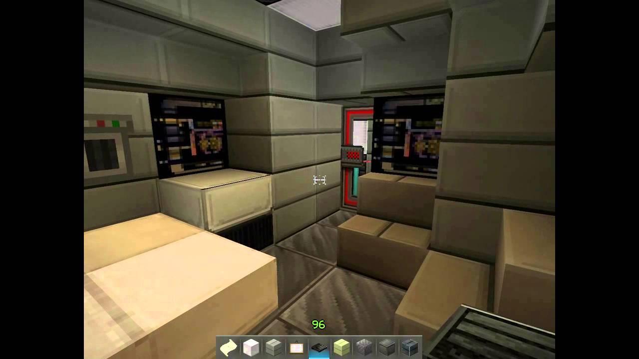 Minecraft USS Enterprise NCC 1701 with detailed interior Part 24