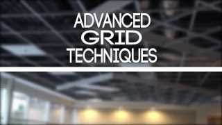 how to install a suspended ceiling grid installation advanced