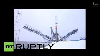 Russia: Soyuz 2-1B rocket launches into orbit with no hitch or glitch
