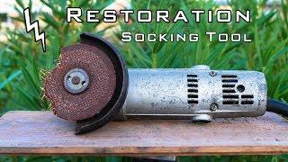 Shocking Angle Grinder Restoration