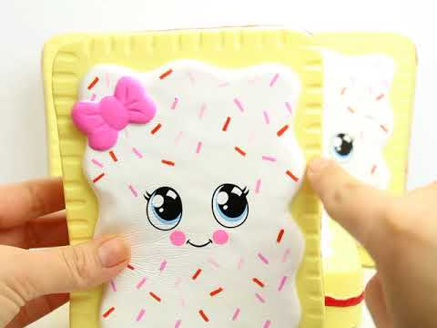 Squishy Silly : Silly Squishies Poptart Squishy - YouTube