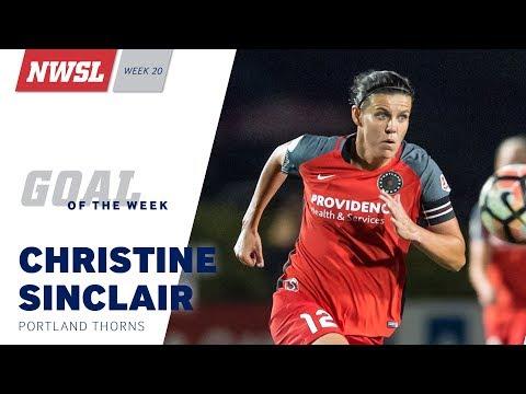 NWSL Week 20 Goal of the Week: Christine Sinclair, Portland Thorns FC