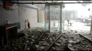 Agência do Santander é arrombada em Goiana PE