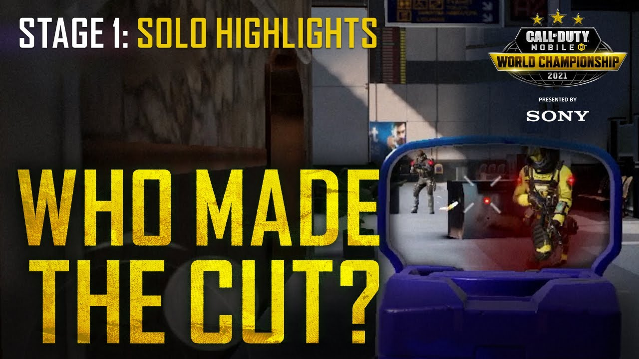 Stage 1 Player Highlights World Championship 2021 |  Call of Duty®: Mobile
