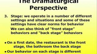 dramaturgy and social interaction Goffman studied both the patterns of everyday interaction such as when two people encounter each other on the sidewalk social sciences what is dramaturgy.