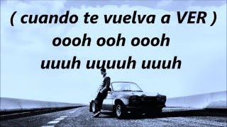see you again - karaoke (spanish version - español) - kevin karla & la banda
