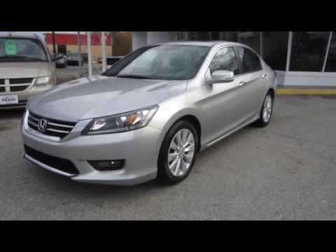 ** 1-OWNER LEASE TURN IN !! ** LOADED 2014 HONDA ACCORD EX-L  ** FOR SALE !!