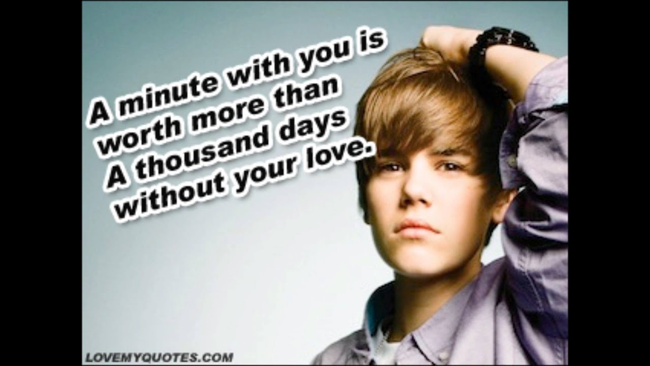 Justin Bieber Quotes ♥ Quote graphics ♥ Love quotes ♥ www ... Justin Bieber Quotes About Love