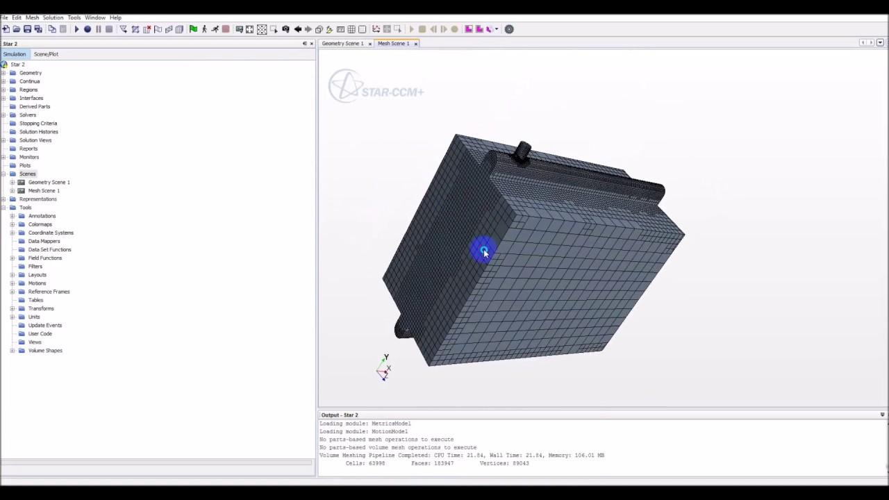 Design of a car radiator - Dual Stream Heat Exchanger Car Radiator By Star Ccm Cd Adapco
