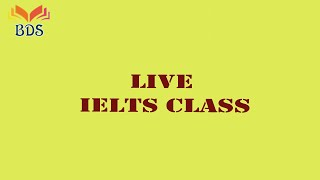 Special IELTS Live class on speaking module by Dr. Roma