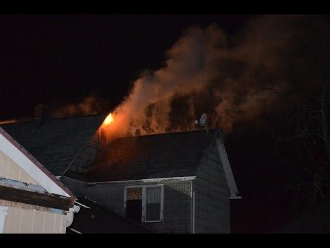 Depew FD Working Attic Fire - 259 Calumet st