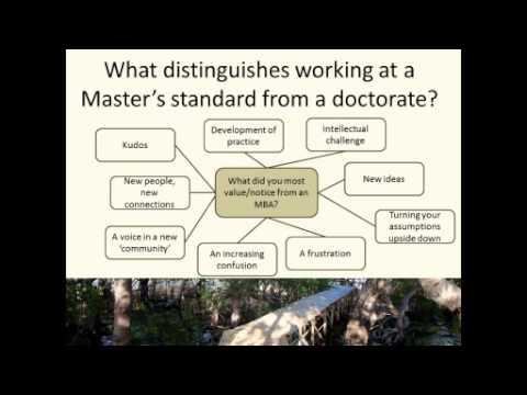 Webinar - Dr Watson I presume -- Thinking of doing a DBA, research