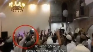 فيديو يفضح احتفالات يهود متطرفين