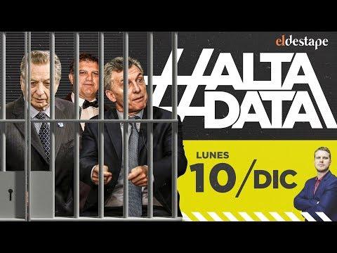 Los Macri a la Justicia | #3AñosPerdidos | #AltaData, todo lo que pasa en un toque