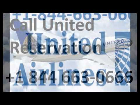 United Airlines Make Reservations 1 844 663-O666