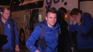 Збірна України прибула до Хорватії