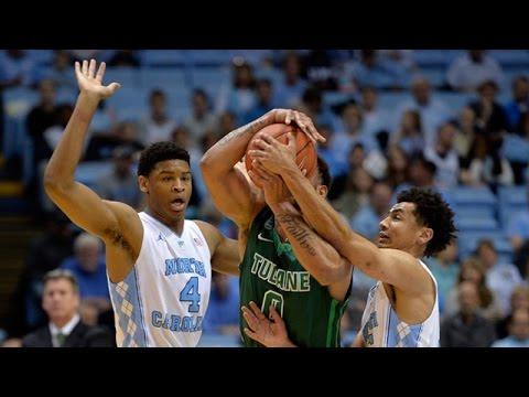 UNC Men's Basketball: Johnson's 25 & 10 Help Heels Run Past Tulane