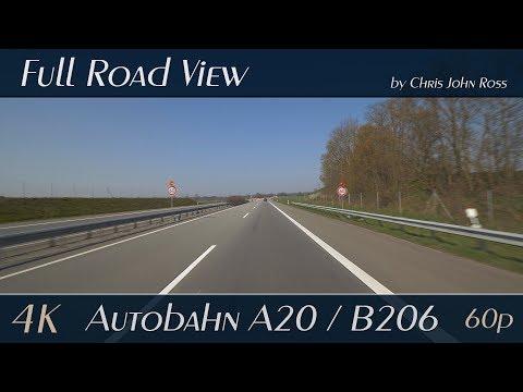 autobahn-(a20),-bundesstraße-(b206),-germany:-weede,-bad-segeberg---4k-(uhd/2160p/60p)