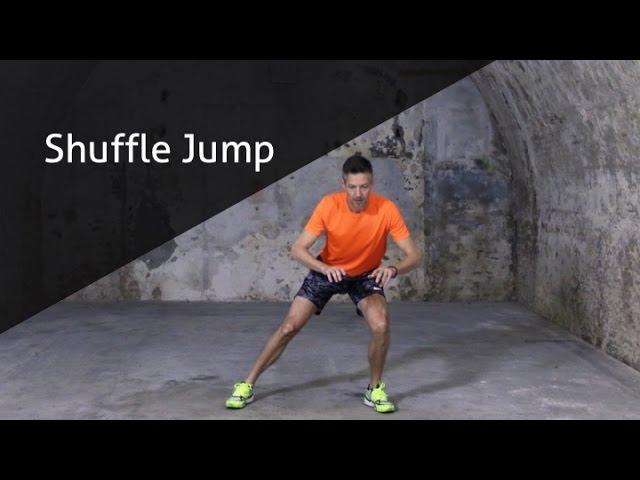 Shuffle Jump - hoe voer ik deze oefening goed uit?