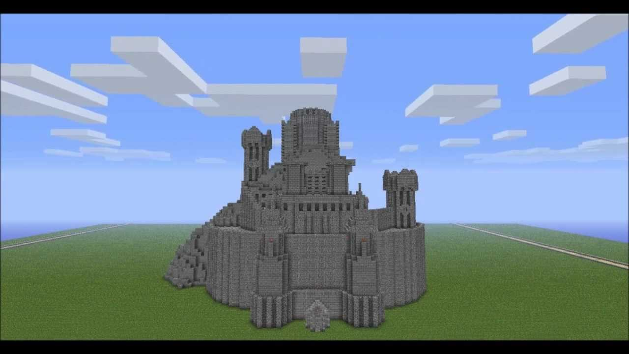 Minecraft Let39s Build The Tower of Sauron The Lord of