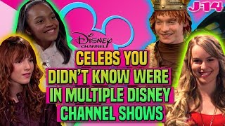 Zendaya, Bella Thorne, and More Stars in Multiple Disney Channel Shows