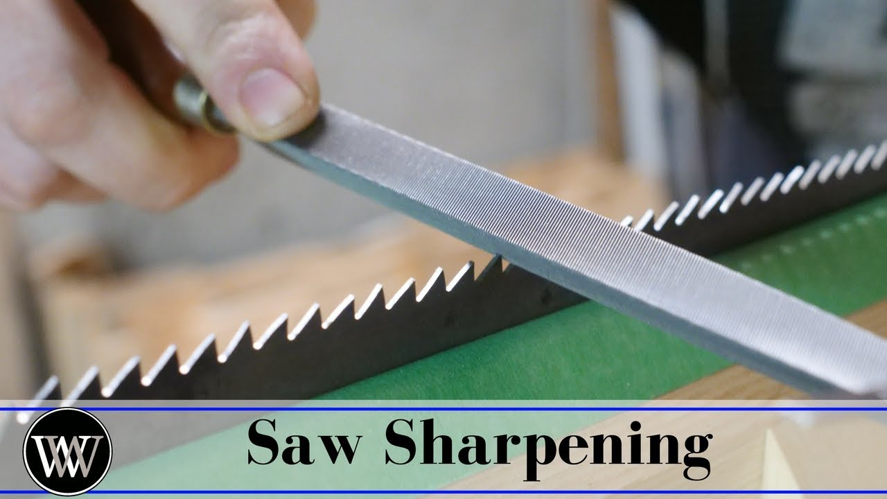 How to Sharpen a Hand Saw | Ripsaws
