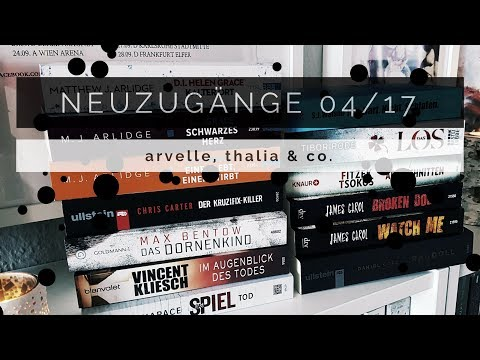 NEUZUGÄNGE || April 2017 | Melanie liest from YouTube · Duration:  19 minutes 3 seconds