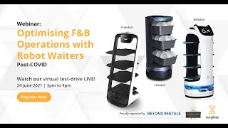 Optimising F&B Operations with Robot Waiters