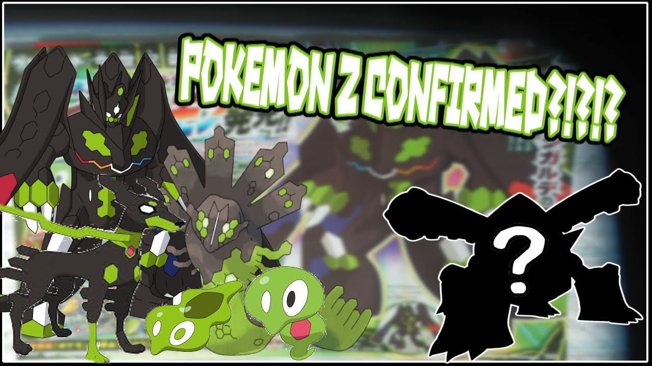 Pokemon Z CONFIRMED!?!? New Zygarde Forms, Core and Cell Held ...