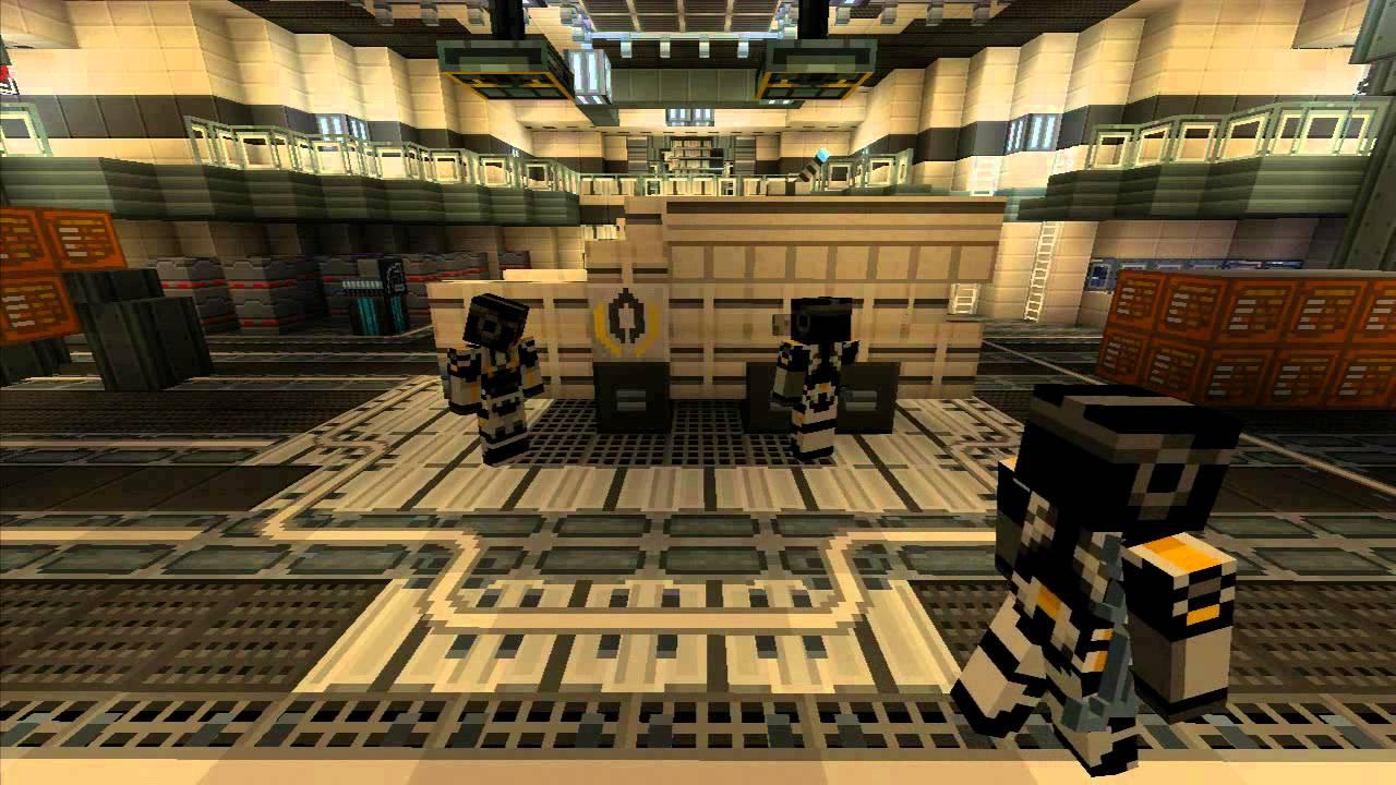 Minecraft Xbox 360 Mass Effect DLC Announced - CINEMABLEND