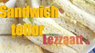 tutorial Cara membuat Sandwich tellur yang enak