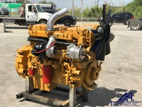 Caterpillar C10 Diesel Engine For Sale (350 HP) Serial # 3CS04087 | CA  TRUCK PARTS