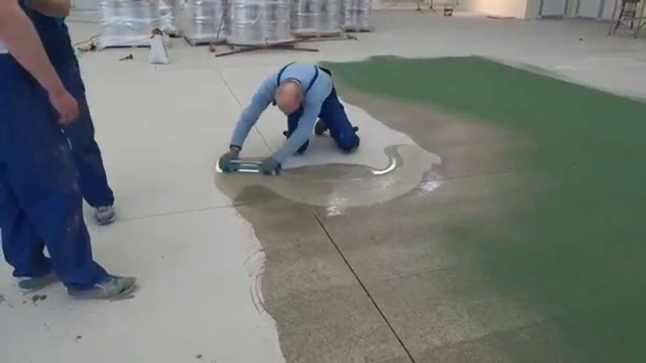 Epoxy flooring with Quartz  BAUTECH Floors  YouTube