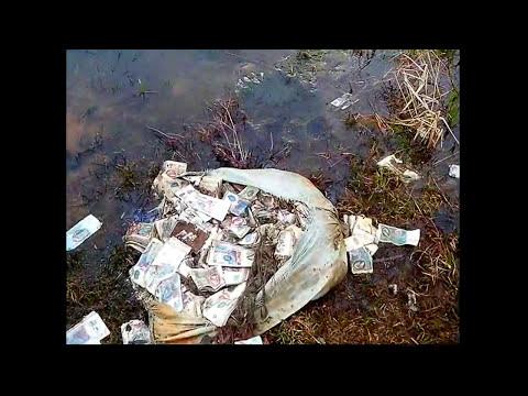 как быстро стать миллионером. нашли гору денег ссср. клад банкнот ссср. Buried Treasure.