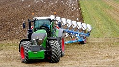 Fendt 1050 vario + 8 furrow Lemken Diamant 11 On-Land Plowing  | KMWP |  Pflügen
