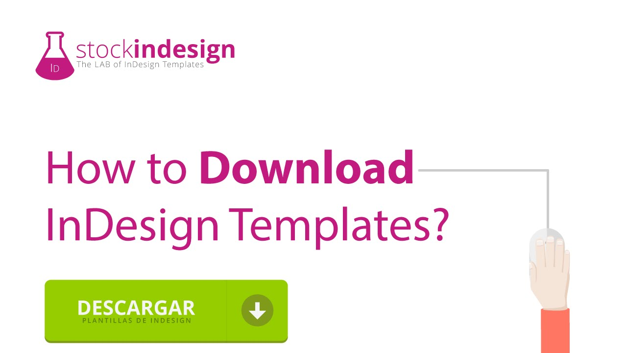 How to Download InDesign Templates - YouTube