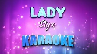 Styx - Lady (Karaoke & Lyrics)