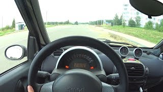 2005 Smart Fortwo POV Test Drive