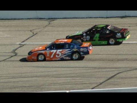 Michael Mucha at Madison International Speedway -  Practice Session