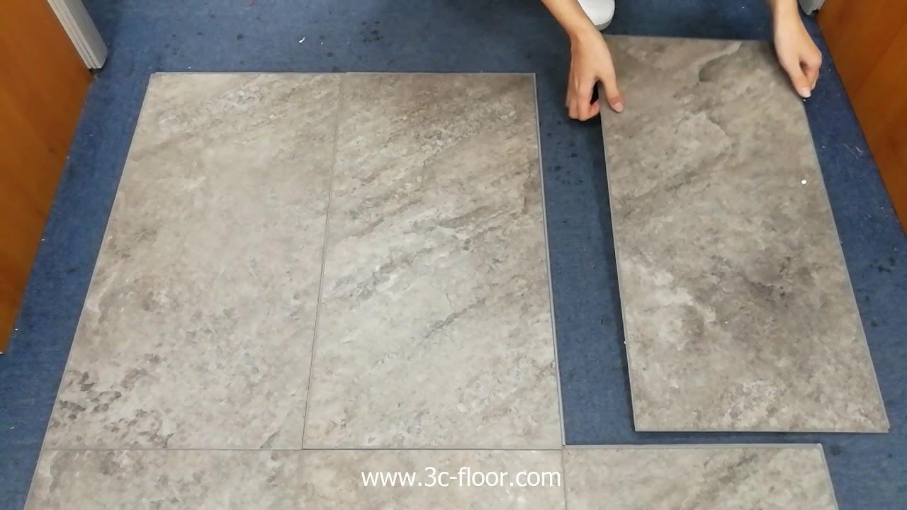 Stone Look Spc Vinyl Click Flooring