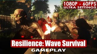Resilience Wave Survival gameplay PC HD [1080p/60fps]