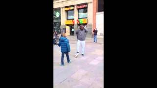 Cristiano Ronaldo Surprises A Kid On A Madrid's Street [full Video]