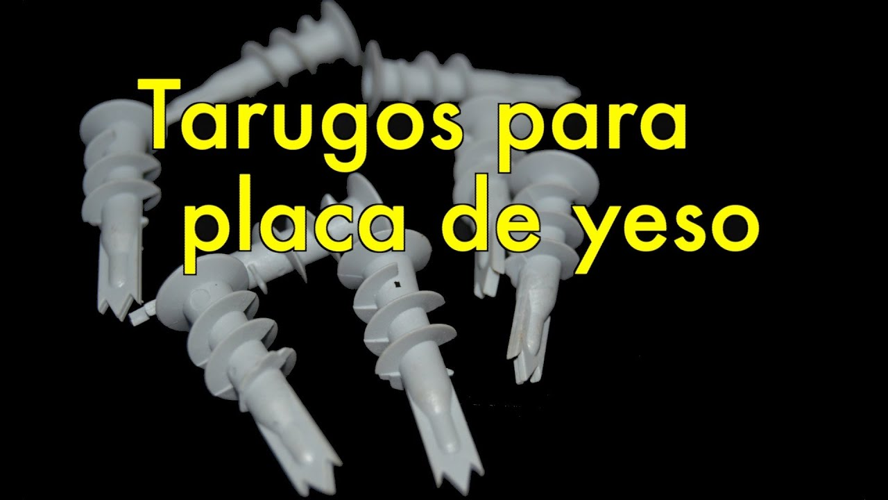 Tarugos para placas de yeso youtube for Placas decoradas para pared