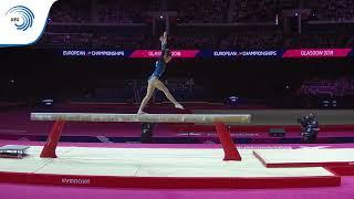 Silviana SFIRINGU (ROU) - 2018 Artistic Gymnastics Europeans, junior beam final